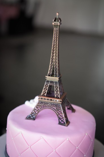 Pink Parisian Themed Baby Shower