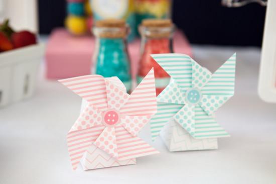 pinwheel decoration