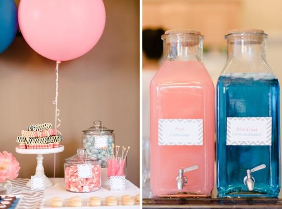 Pink & Blue Gender Reveal Baby Shower