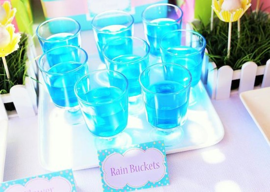 raindrop cloud baby shower ideas April Showers Bring May Flowers