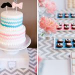 Pink & Blue Gender Reveal Baby Shower