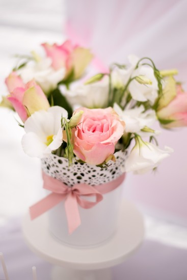 floral for baby shower