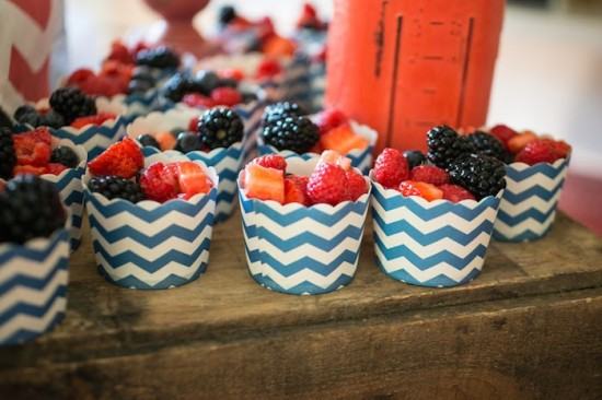 fruit in little cups