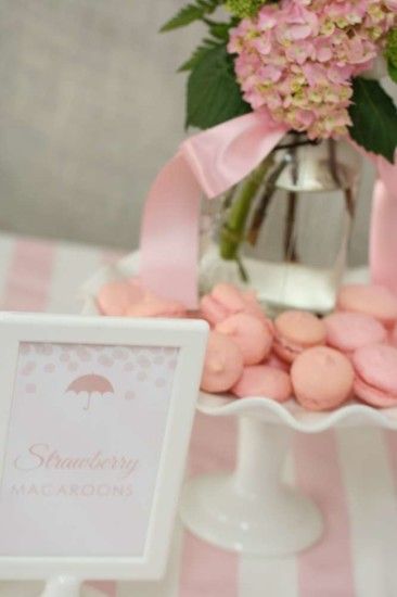 Pink Baby Sprinkle Shower for a girl