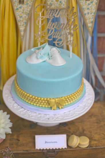 twinkle twinkle little stars cake