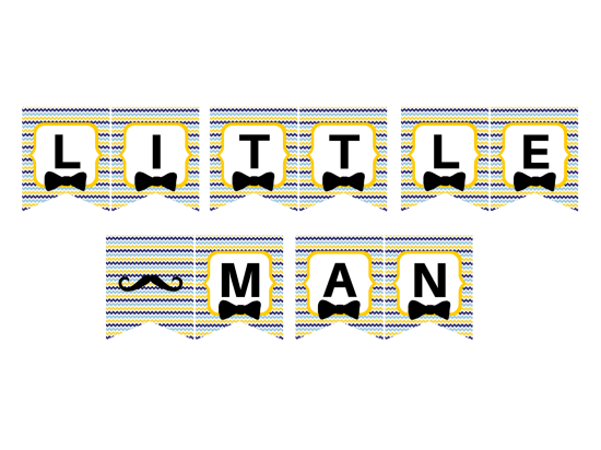 free little man banner