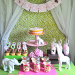 Pink & Green Safari Baby Shower