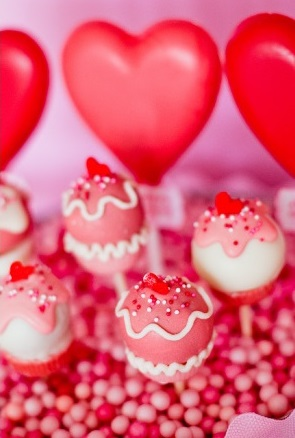 Retro Valentine's Day Party treats