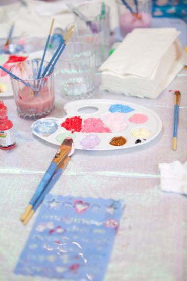 baby shower activity ideas paint an onesie