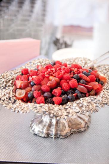baby shower food ideas berry fruit platter