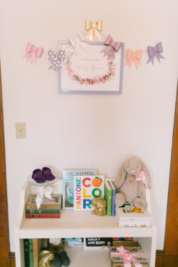 baby's library collection Library Inspired Baby Shower