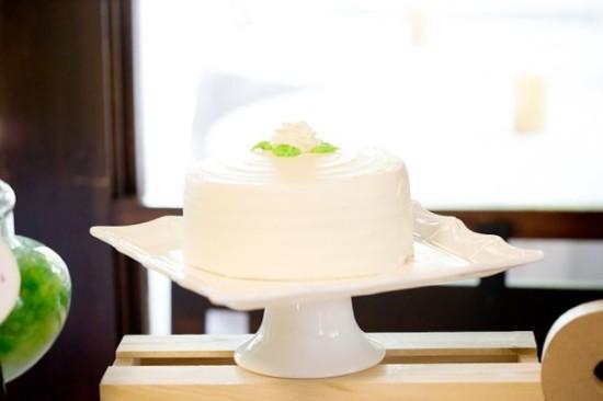 cake in green