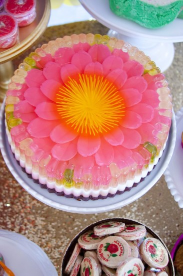 colorful Festive Mexican Baby Shower dessert