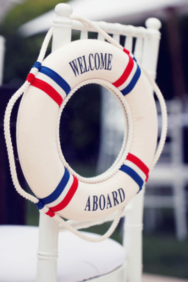decoration welcome abroad sign