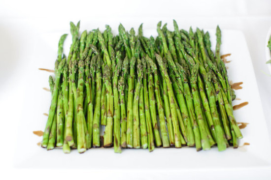 food and drinks asparagus