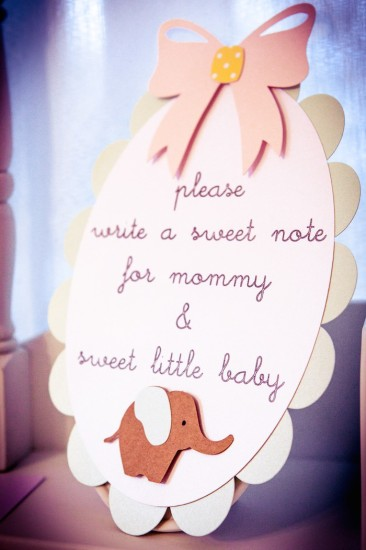 note for mommy baby