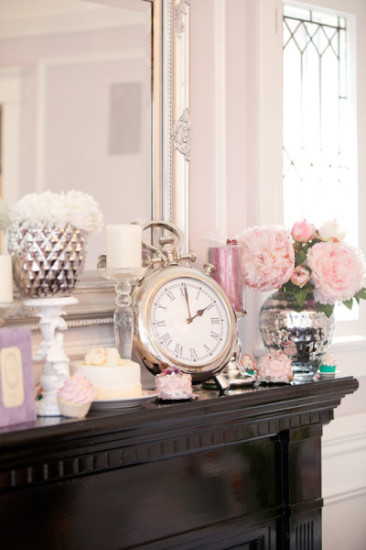 baby shower in pink