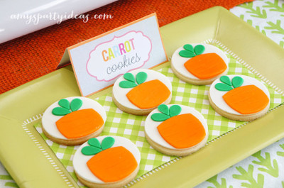 Easter Printables cookies
