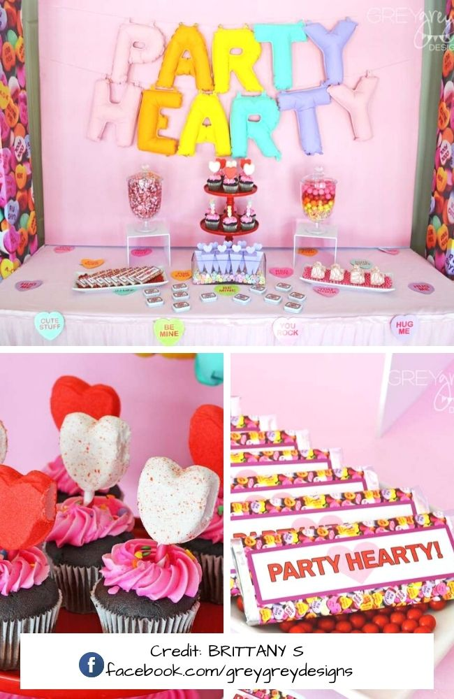 Party Hearty Valentine's Day Party
