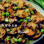 Blue Cheese Sweet Potato Rounds