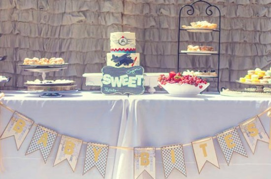 Vintage-Aviation-Baby-Shower-sweet-table