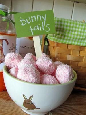 bunny tail snacks