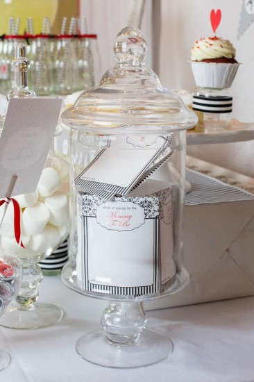 gender-neutral-baby-love-shower-advice-mommy-to-be-damask-black-white-stripe-baby-shower