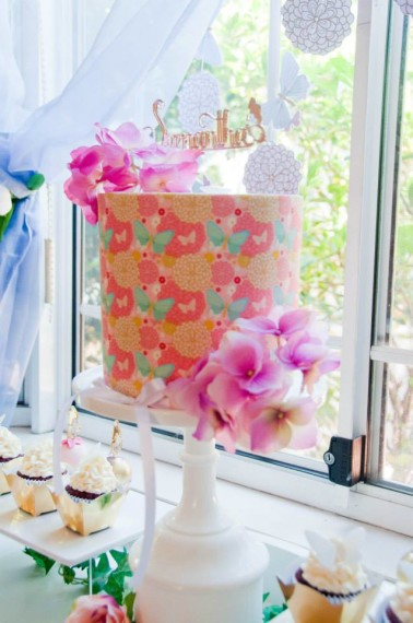 gold-pink-butterflies-flowers-celebration-gold-mirroe-topper-cake-idea
