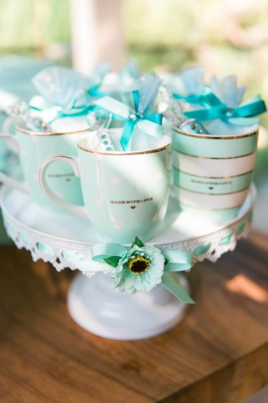 gorgeous-baby-boy-shower-turquoise-cups