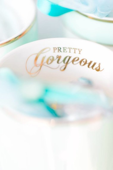 gorgeous-baby-boy-shower-turquoise-cups-pretty-gorgeous-label