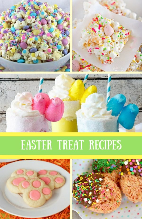 spring easter baby shower food ideas