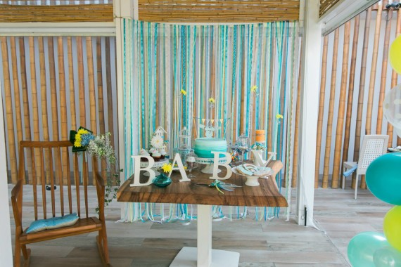turquoise_gorgeous-baby-boy-shower-main-table