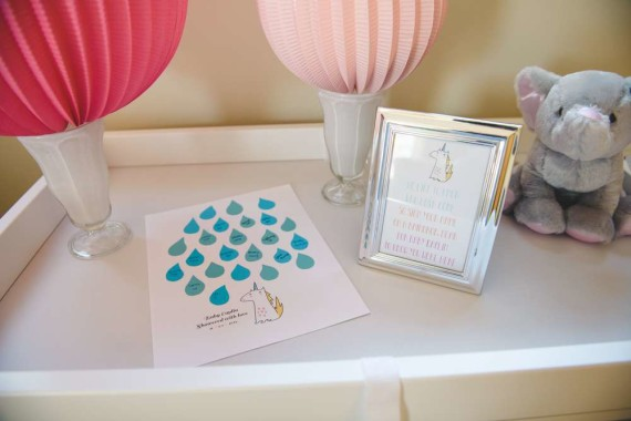 Unicorn Baby Shower Theme ideas activity