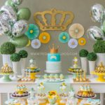 Little Prince Crown Baby Shower