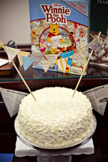 school-library-baby-shower-mini-bunting-cake-winnie-the-pooh-book-for-baby