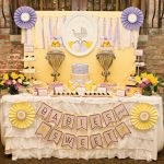 Sweet Lemon & Lavender Baby Shower