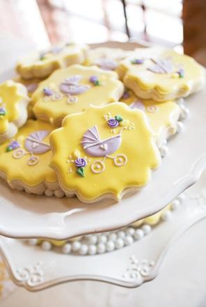 sweet-lemon-lavender-baby-shower-cookies