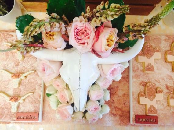 Desert & Rose Inspired Celebration decoration idea