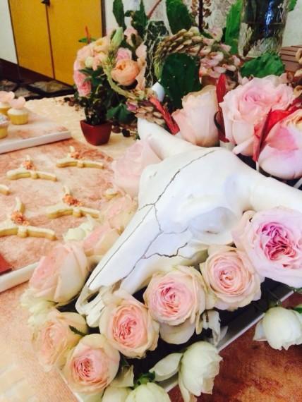 Desert & Rose Inspired Celebration decoration ideas