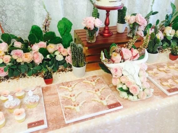 Desert & Rose Inspired party, baby shower ideas