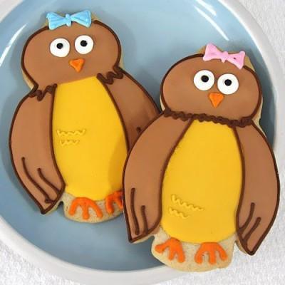 Designer Baby Shower Cookies