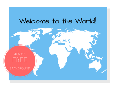 40x30_FREE_Welcome_to_the_world_backdrop