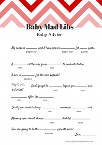 FREE-Printable-baby-shower-mad-libs-game-baby-advice-game-babyshowerideas4u-570x427
