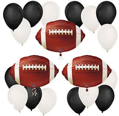 Football Themed Baby Shower Ideas balloon kit