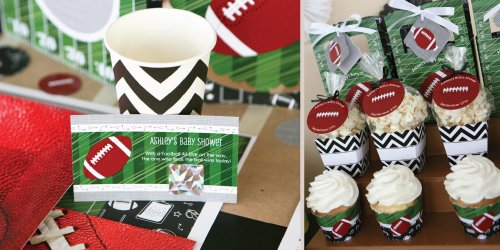 Football Themed Baby Shower decoration ideas