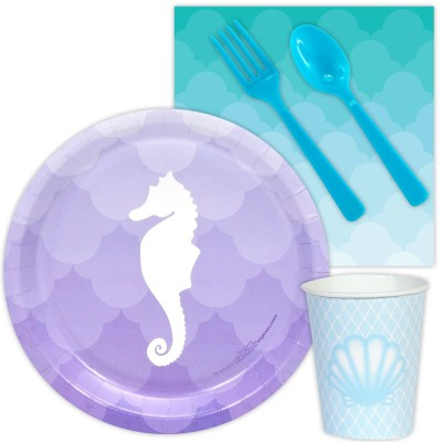 Mermaids Under the Sea Snack baby shower Pack