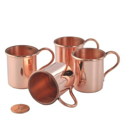 Mini Copper Moscow Mule Mugs