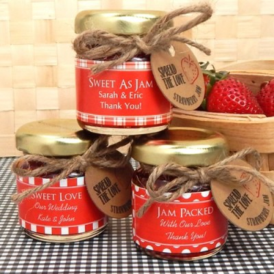Personalized Baby Jam Favor