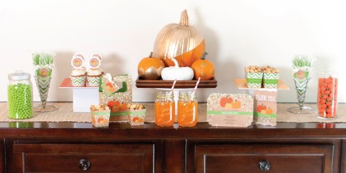 Pumpkin Patch Baby Shower Theme