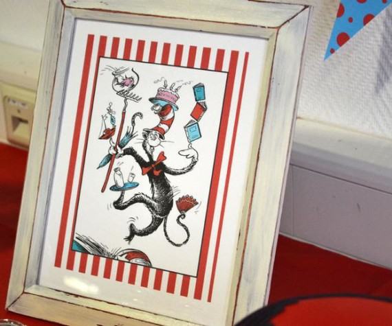 thing 1 thing 2 twin baby shower sign